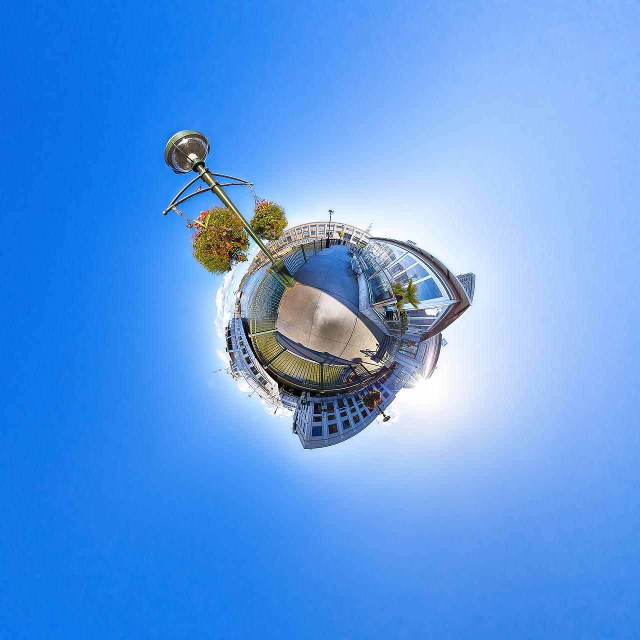 san francisco little planet 360 2135888 - 360